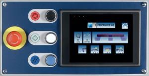 Panel táctil touch screen en color