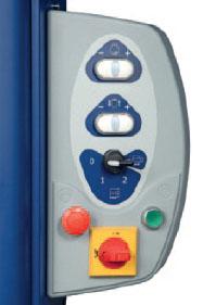 Ecoplat BASE - Panel de control