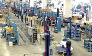 Robopac - línea de producción
