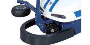 Robot master - Parachoques frontal de emergencia para parada inmediata a través del freno motor