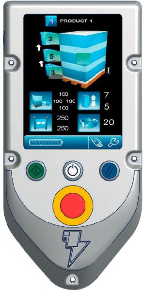 Robot S6 - Panel de control