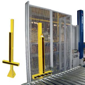 Technoplat 3000 - Protecciones perimetrales metálicas