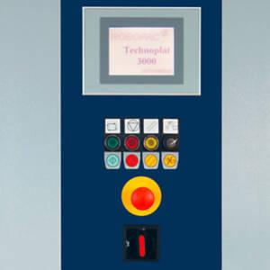 Technoplat 3000 - Panel de control con pantalla táctil