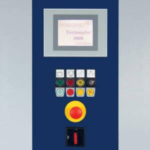 Technoplat 3000 - Panel de control