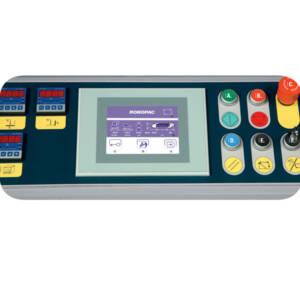 Panel de control con pantalla táctil