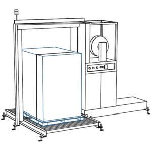 La SPK 2100 se puede integrar facilmente en líneas completamente automáticas.