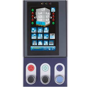 Technoplat 2000 - Detalle del panel de control