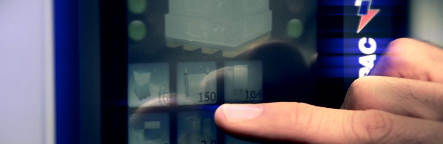 Technoplat 2000 - Panel de control
