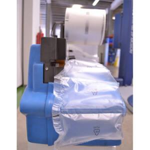 máquina de relleno con bolsas de aire