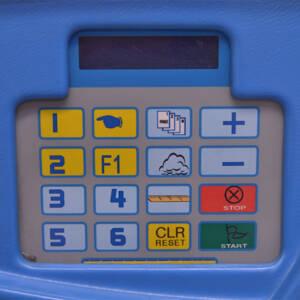 Panel de control máquina FTK100