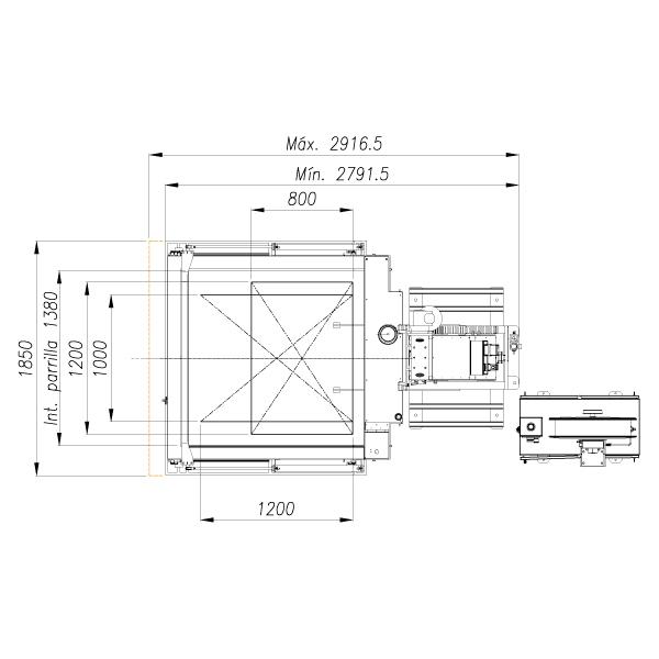 Flejadora SPK 2900 - mando a distancia