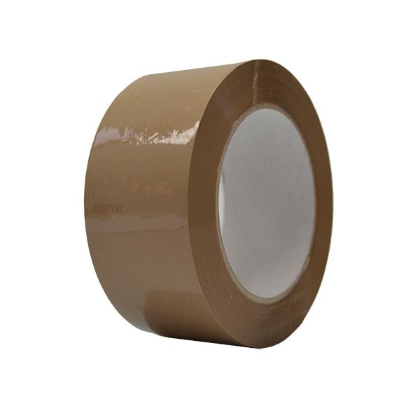 Cinta adhesiva polipropileno solvente marrón