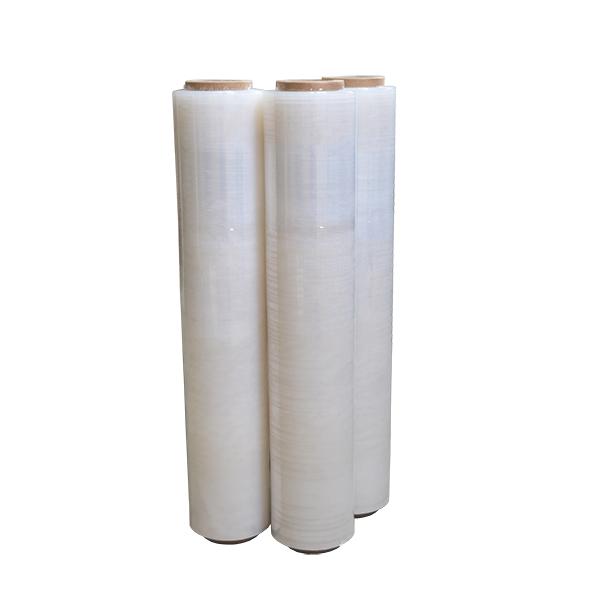 Film estirable manual transparente en bobinas de 2,2kg