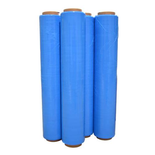 bobinas film plástico extensible azul