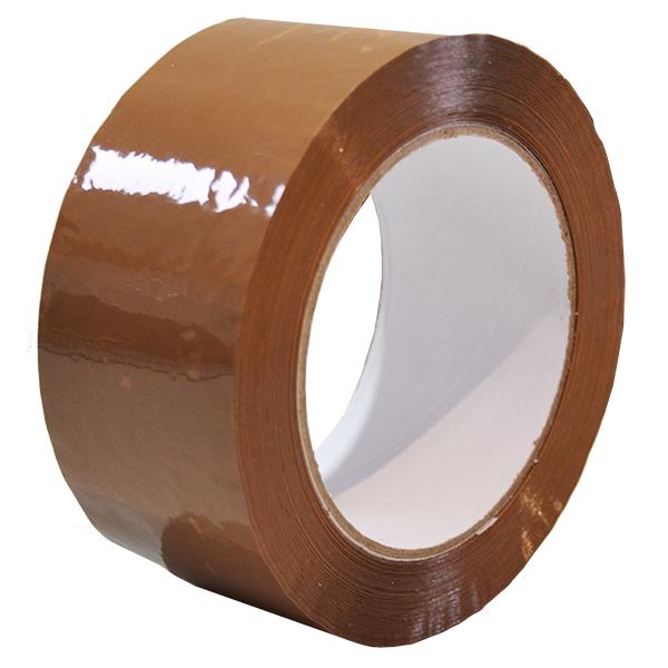 Precinto acrílico marrón