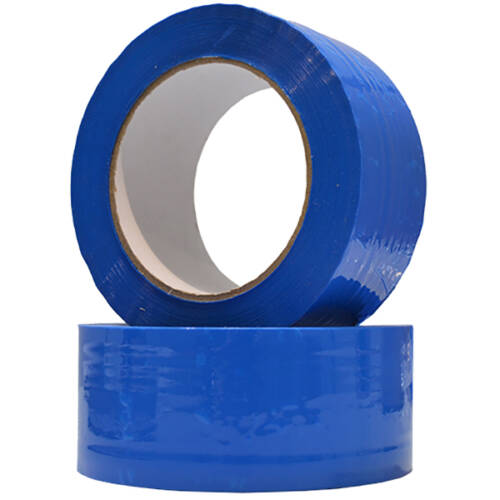 Rollos precinto azul acrilico