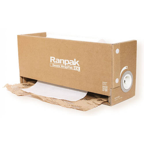 Dispensador de relleno con papel Gemas ExBox