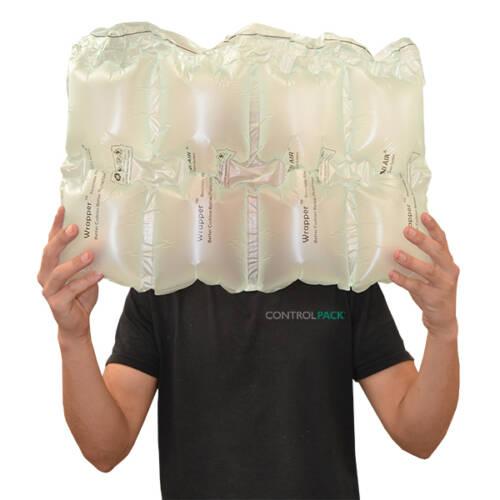 plástico fabricar relleno aire cajas