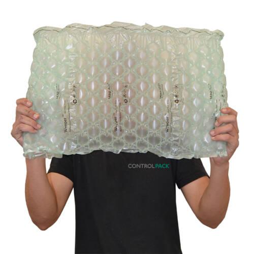 bobina plástico fabricar burbujas aire