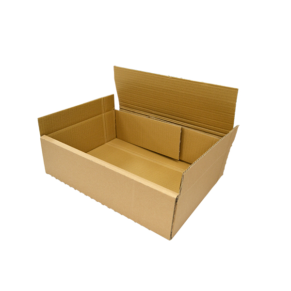 Caja de cartón automontable