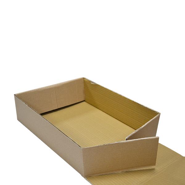 Caja automontable sin tapa