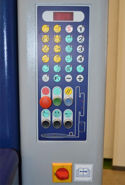 cw 707 robopac enfardadora control
