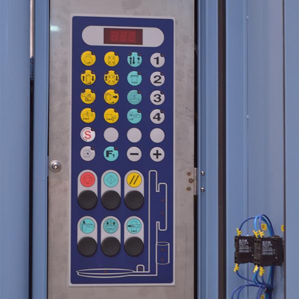 panel de mandos rotoplat freezer