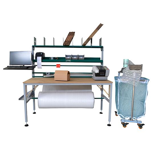 Una mesa, muchas soluciones. La mesa para preparación de pedidos spk ofrece una amplia multitud de ventajas.