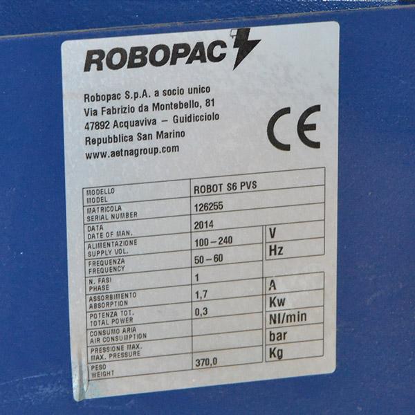 Matricula Robot S6 Ocasión