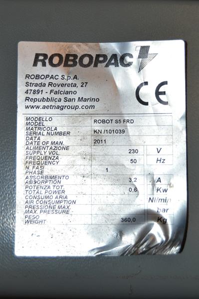 robot s6 matricula