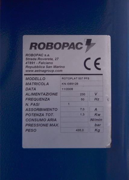 rotoplat 507 pfs matricula