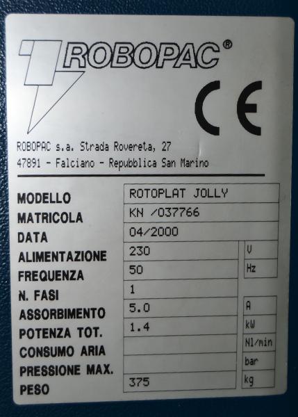rotoplat jolly maricula