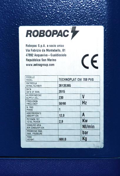 technoplat cw 708 matricula